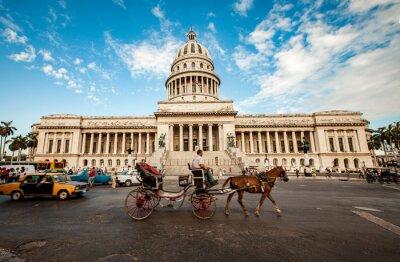 Obraz Havana, Kuba - 7. června: Kapitál budova Kuba června, 7. 2011 i