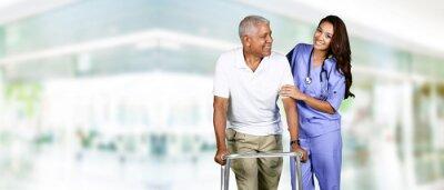 Obraz Health Care Worker a starší muž