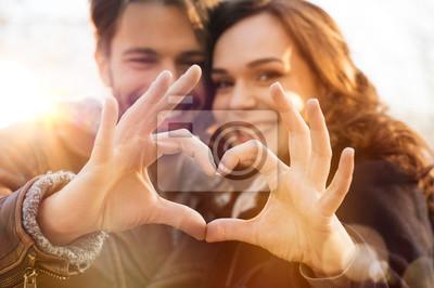 Obraz Heart and love