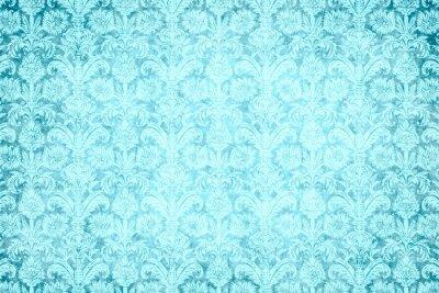 Obraz hintergrund - blauer prunk