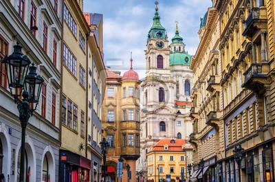 Historické barokní budovy v centru Prahy, Česká Repu