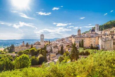 Obraz Historické město Assisi, Umbria, Itálie