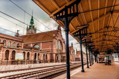 Obraz Hlavní nádraží Gdaňsk