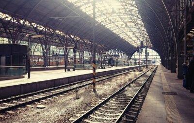 Obraz Hlavní nádraží v Praze, Česká republika.