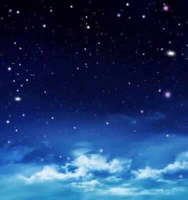 Obraz hlubokého vesmíru, abstraktní pozadí