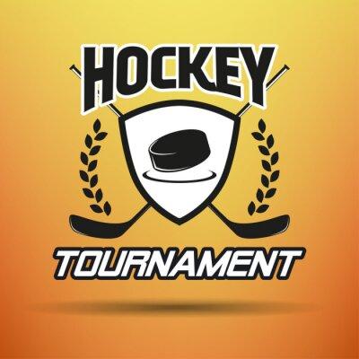Obraz Hokej Label