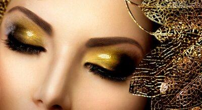 Obraz Holiday Gold blýská oční stíny