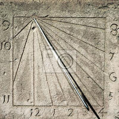 horloge slnečná
