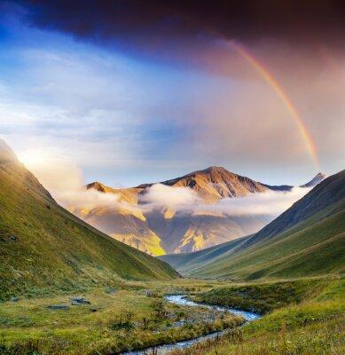Obraz Horská krajina