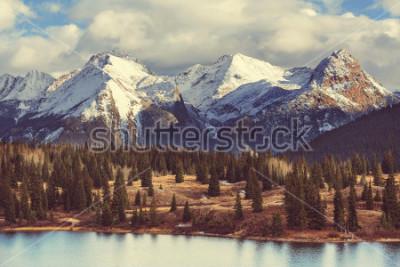 Obraz Horská krajina v Colorado Rocky Mountains, Colorado, Spojené státy americké.