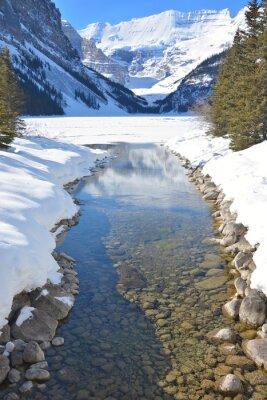 Obraz Hory a řeky