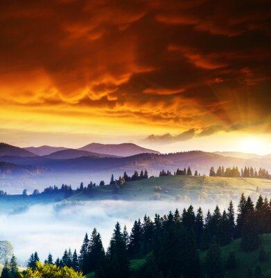 Obraz Hory krajina