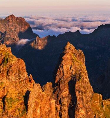 Obraz Hory na Madeiře