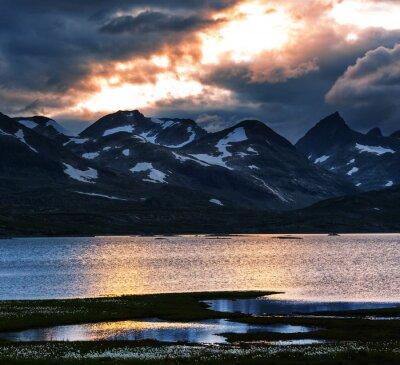 Obraz Hory v Norsku