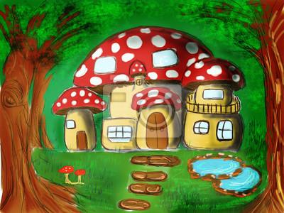 Houbová dům