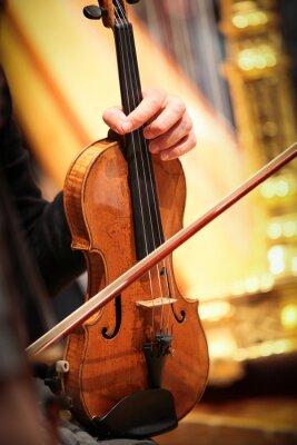 Obraz housle nástroj odvětrávací musique classique Symphonique Corde
