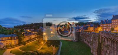 Hrad Fougeres v Bretani - Francie