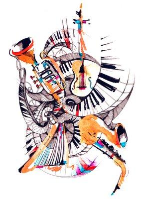 Obraz hudební nástroje