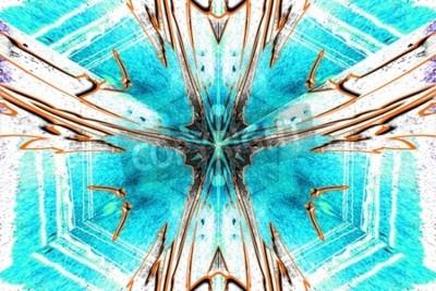 Obraz Hvězda abstrakce symetrické