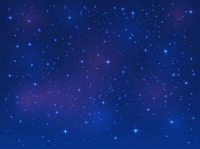 Obraz Hvězdy na modrém pozadí oblohy