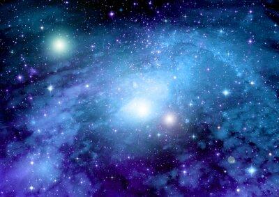 Obraz Hvězdy, prach a plyn mlhovina