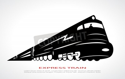 Obraz ikona vlak