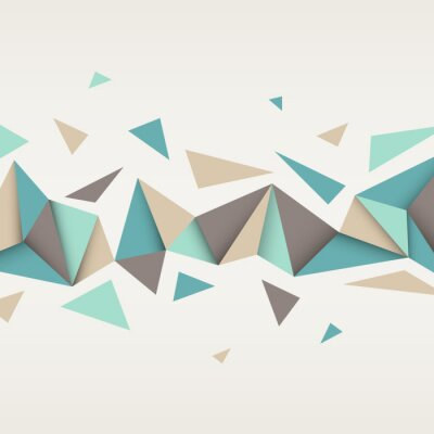 Obraz Illustration of abstract texture with triangles.