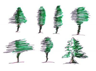Ilustrace - Tvar stromu