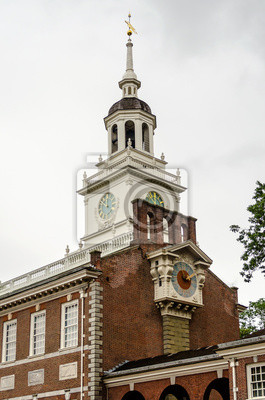 Independence Hall v Philadelphii, Pennsylvania.