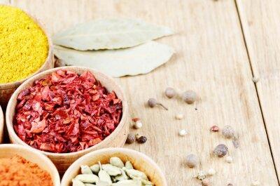 Obraz indického koření