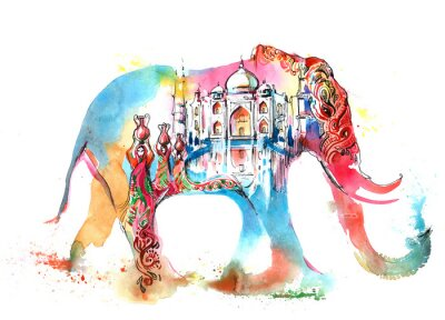 Obraz Indie