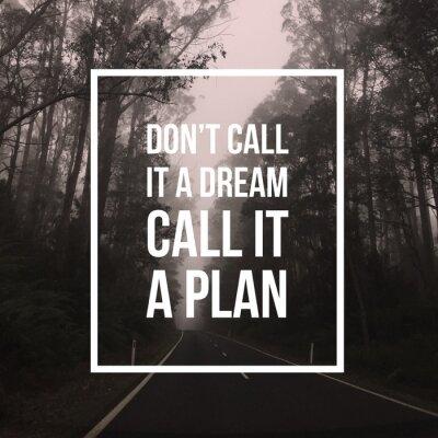 Obraz Inspirační motivační citace
