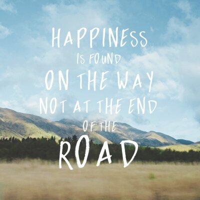 Obraz Inspirational motivational quote