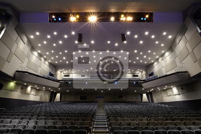 Interiér kina hlediště.