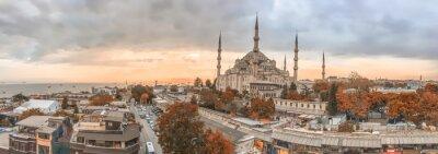 Obraz Istanbul - město Panoramatické záběry