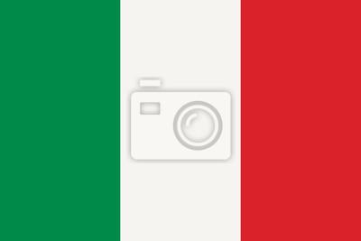 Obraz Italská vlajka