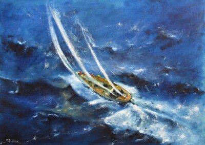 Obraz jachting V