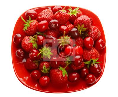 Jahody a třešně