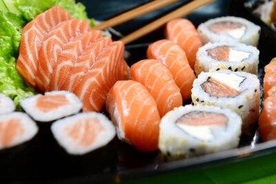 Obraz Japonské jídlo - sushi