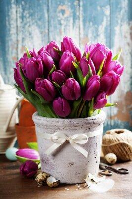 Obraz jarní tulipány