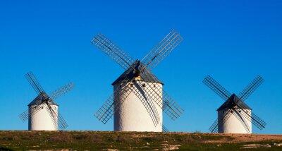 Obraz Jen málo z větrných mlýnů