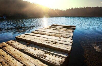 Obraz jezero
