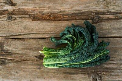 Obraz Kale nebo list zelí