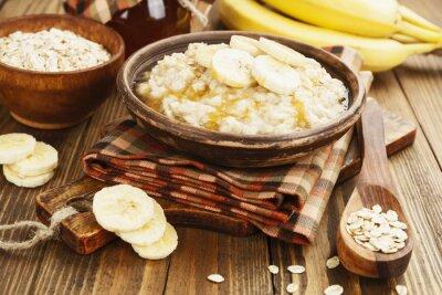 Obraz Kaše s banány