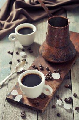 Obraz Káva v pohárech