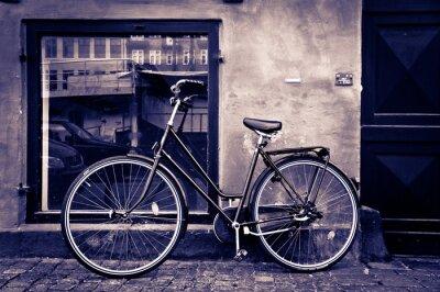 Obraz Klasické vintage retro město kol v Kodani, Dánsko