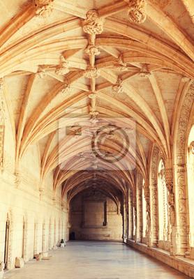 Klášter svatého Jeronýma Belem, Lisabon, Portugalsko