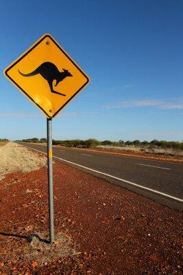Obraz Klokan znamení v jižní Austrálii