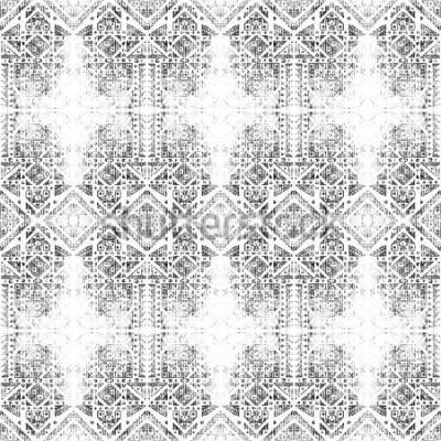 Obraz Kmenové bezešvé vzor. Ručně malovaná textury akvarelu. Grunge abstraktní pozadí