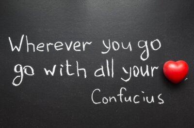 Obraz Konfucius citace